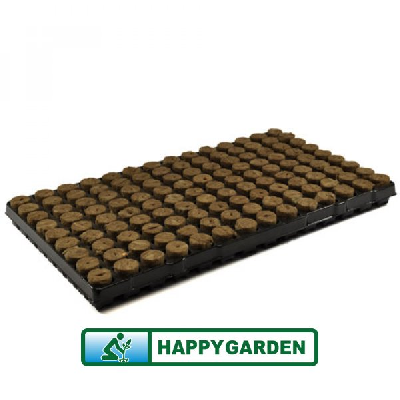 AGRA-WOOL SPEED GROW SEED CUTTING PLUGS 126 (BOX = 11 TRAYS)