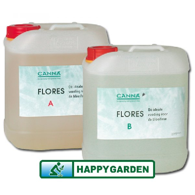 CANNA HYDRO FLORES A+B 5 LITERS