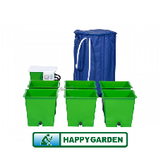 Green man 6 pot flood & drain system inc. Brain / 220l flexitank.