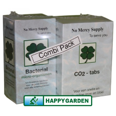 NO MERCY COMBI-PACK (60 CO2 TABS + 50 ML BACTERIAL)