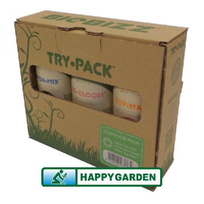 BIOBIZZ TRY-PACK ™ OUTDOOR PACK